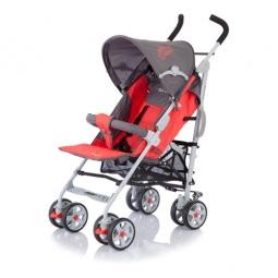 фото Коляска-трость Baby Care Polo. Цвет: серый, красный