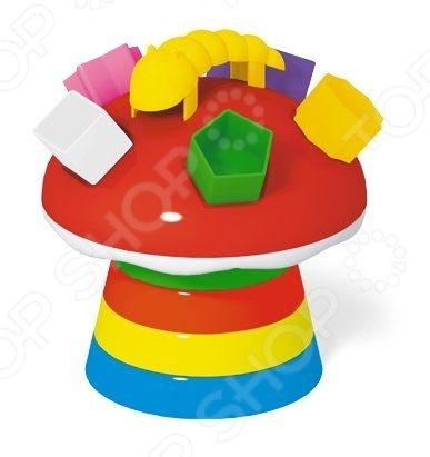 Игрушка-пирамидка Стеллар «Гриб» 01336 цена