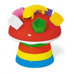 фото Игрушка-пирамидка Стеллар «Гриб» 01336