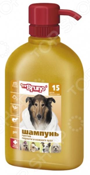 Шампунь для собак Mr.Bruno №15 против перхоти и кожного зуда