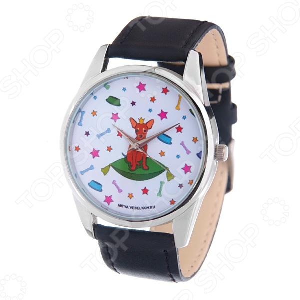 Часы наручные Mitya Veselkov «Королева песиков» MV часы наручные mitya veselkov часы mitya veselkov одри на белом курит арт mv 38