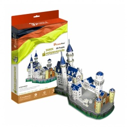 Купить Пазл 3D CubicFun «Замок Нойшванштайн» MC062h