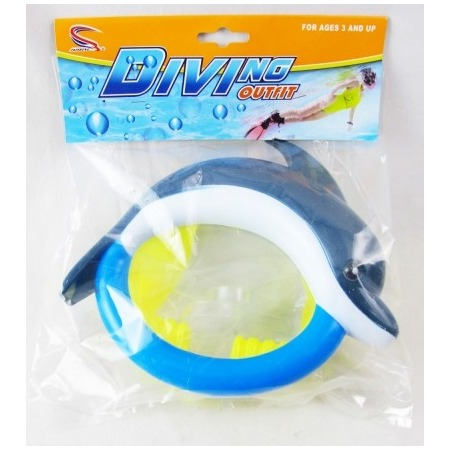 Купить Маска для ныряния Intex TX7716 «Дельфин»