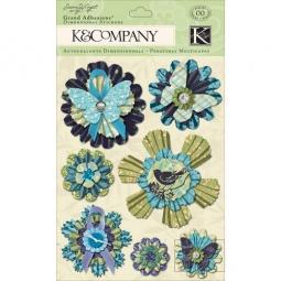 Купить Стикер-украшение K&Company «Растительные медальоны»