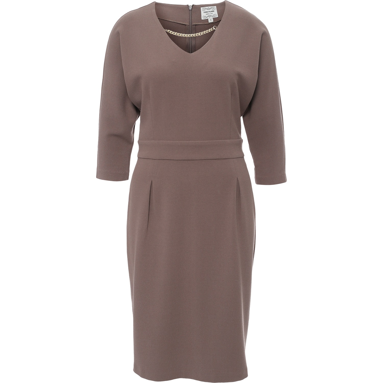 e02be59b0a56366 Платье Finn Flare B17-11036. Цвет: мокко купить по низкой цене в ...