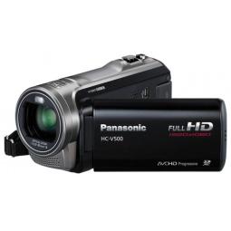 фото Видеокамера Panasonic HC-V500EE. Цвет: черный
