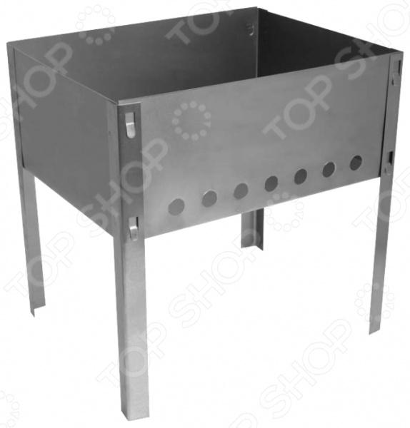 Мангал Boyscout 61530Грили. Мангалы<br>Мангал Boyscout 61530 это прекрасный выбор для любителей пикников и шашлыков на природе. Модель имеет разборную конструкцию, благодаря чему весьма компактна в хранении. Мангал изготовлен из высококачественной стали, снабжен четырьмя устойчивыми ножками, практичен и долговечен в использовании.<br>