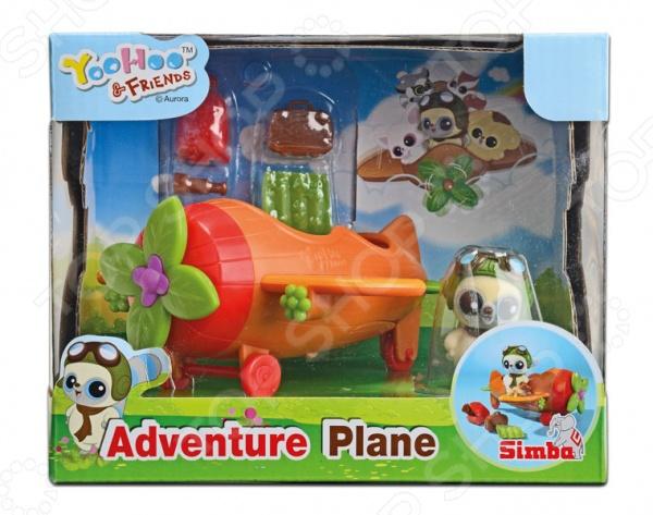 Набор игровой c фигуркой и аксессуарами Simba «Самолет» 5950591 simba simba игровой набор домик миши с фигуркой и аксессуарами