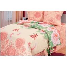 фото Комплект постельного белья Комфорт «Японский сад». 2-спальный