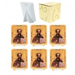 Купить Набор декоративных тарелок Elan Gallery «Николай Чудотворец»