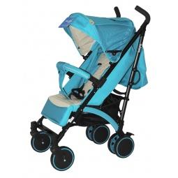 фото Коляска-трость Baby Hit RAINBOW. Цвет: голубой