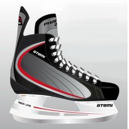 фото Коньки хоккейные ATEMI PHANTOM 2.0 RED. Размер: 38