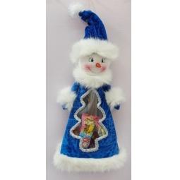 фото Мешок для подарков Новогодняя сказка «Снеговик» 93964