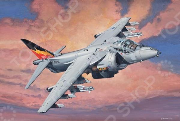 Сборная модель самолета-штурмовика Revell Hawker Harrier сборная модель revell самолет panavia tornado gr 1 raf 04619r