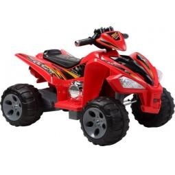 фото Квадроцикл детский электрический Пламенный Мотор 86082. Цвет: красный