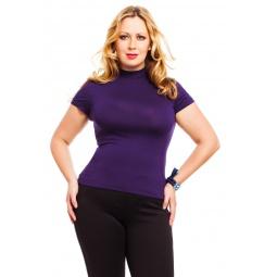 фото Водолазка Mondigo XL 037. Цвет: темно-фиолетовый. Размер одежды: 48
