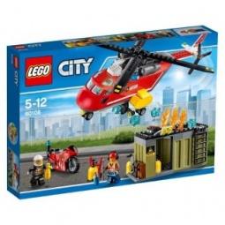 Купить Конструктор игровой для ребенка LEGO «Пожарная команда быстрого реагирования»