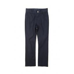фото Брюки детские Appaman Skinny twill pants. Цвет: синий. Рост: 104-110 см