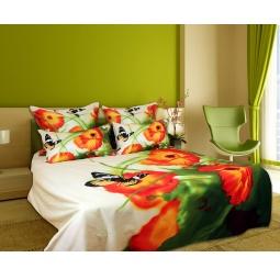 фото Комплект постельного белья Buenas Noches Gazania. Satin Fotoprint. 2-спальный