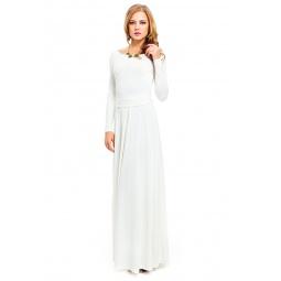 фото Платье Mondigo 7003. Цвет: молочный. Размер одежды: 46