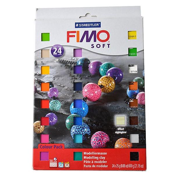 фото Глина полимерная для детей Fimo Soft 8023-02