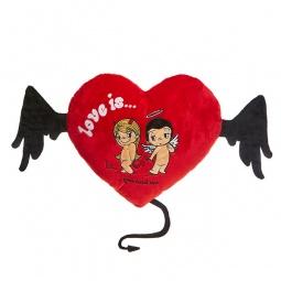 фото Подушка декоративная Love is... «You and me»