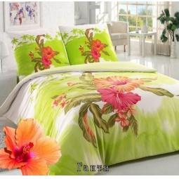 фото Комплект постельного белья Сова и Жаворонок «Гаити». 1,5-спальный