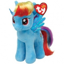 фото Мягкая игрушка TY Пони Rainbow Dash