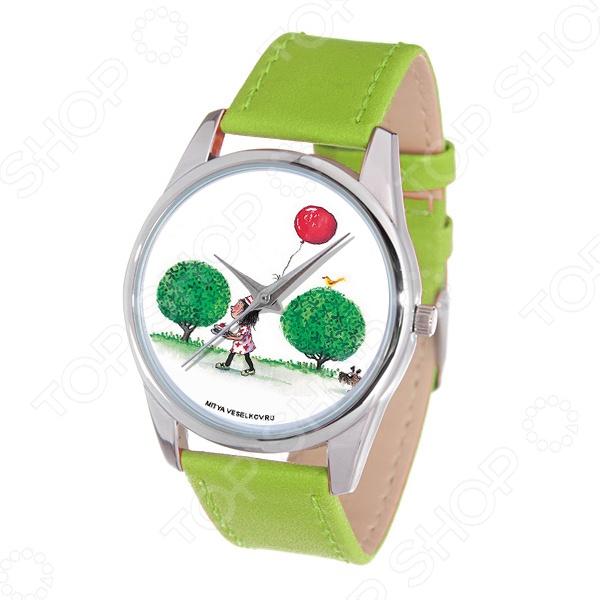 Часы наручные Mitya Veselkov «Праздничный день» Color часы наручные mitya veselkov райский сад color