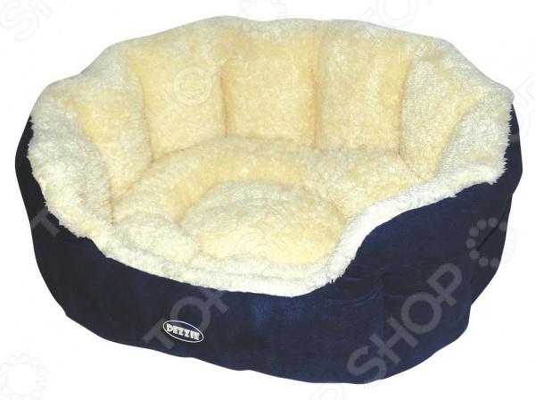 Лежак для собак DEZZIE 5636021Домики. Лежаки. Подстилки для собак<br>Лежак для собак DEZZIE 5636021 это удобный лежак для собак, который необходим в доме, это обусловлено тем, что любой член семьи должен иметь свое спальное место. Лежак представляет собой вместительный и устойчивый каркас, который сделан из полиэстера и отличается повышенной износостойкостью. Такой материал будет тяжело порвать зубами или расцарапать. Подушка имеет съемный чехол на молнии, легко моется стиральной машине. Подобный мини-диванчик даст четвероногому любимцу почувствоваться себя в комфорте и спокойствии, ведь для них очень важно иметь собственное место в доме. Кроме того, интересный дизайн лежака легко впишется в любой интерьер и порадует не только вашего любимца, но и вас. Выбирайте лежак в зависимости от размеров вашего питомца.<br>