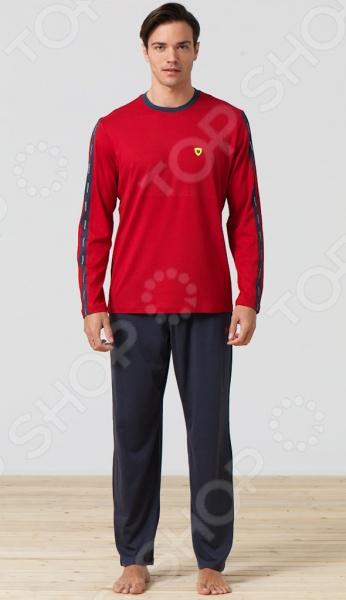 Комплект домашний мужской BlackSpade 7282. Цвет: красный