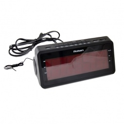 Купить Радиоприемник с часами Rolsen CR-140
