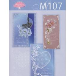 Купить Набор схем для парчмента Pergamano M107 Свадьба