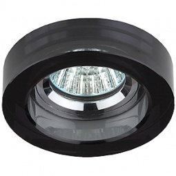 Купить Светильник светодиодный встраиваемый Эра DK38 CH/BK