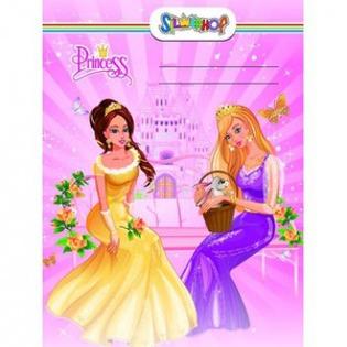Купить Набор обложек для тетрадей и дневника Silwerhof Princess