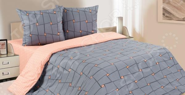 Комплект постельного белья Ecotex «Престо». 2-спальный2-спальные<br>Комплект постельного белья Ecotex Престо из высококачественного хлопка. Поплин создан на основе переплетенных хлопковых нитей различной толщины. Особая технология изготовления ткани определяет и достойные потребительские качества постельного белья: оно прекрасно впитывает влагу и дает коже дышать, создавая идеальные условия для отдыха и сна. После стирки комплект не деформируется и практически не мнется, сохраняет яркость красок и прочность швов. Данный комплект подойдет как для зимнего, так и для летнего сезона поплин отлично пропускает воздух, но при этом сохраняет тепло. Рисунок комплекта представлен изящным узором в теплых тонах, которые прекрасно впишутся в интерьер любой спальни и наполнят ее уютом. А вам подарят часы абсолютного покоя и умиротворения.<br>