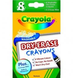 Купить Набор восковых мелков Crayola Dry-Eras