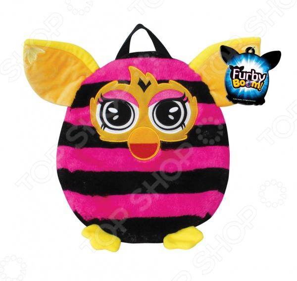 Рюкзачок детский 1 Toy Furby Т57477Аксессуары к одежде для детей<br>Рюкзачок детский 1 Toy Furby Т57477 - яркий стильный аксессуар, станет прекрасным подарком для вашего малыша. Модель выполнена из мягкого длинного крашеного меха высокого качества, принт которого абсолютно идентичен интерактивному Furby. Вашему ребенку обязательно понравиться вместительный красочный рюкзак в форме любимого героя, тем более, что теперь он сможет положить в рюкзак и взять с собой свои любимые игрушки куда угодно: на прогулку, в садик или в гости. Размер рюкзака - 35 см.<br>