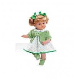 фото Кукла интерактивная Arias «Блондинка». Цвет: зеленый