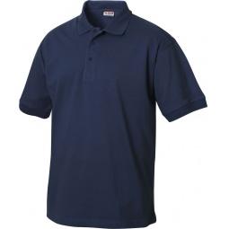 фото Рубашка-поло Clique «Линкольн». Цвет: синий. Размер одежды: XL