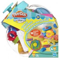 фото Набор пластилина Play-Doh Банка со сладостями