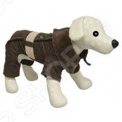 Комбинезон для собак DEZZIE «Браун»