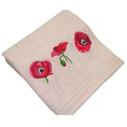 фото Полотенце подарочное с вышивкой TAC Maki. Цвет: розовый