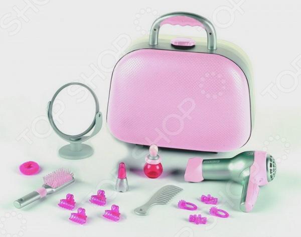 Игровой набор парикмахера Klein BRAUN набор парикмахера klein barbie с феном 8 предметов 5793