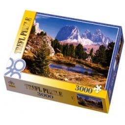 Купить Пазл 3000 элементов Trefl «Озеро в Доломитах»