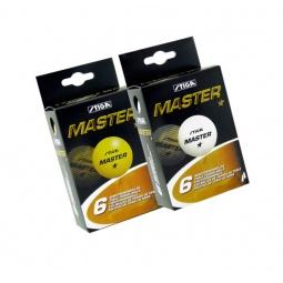 фото Мячи для настольного тенниса Stiga Master. Цвет: белый