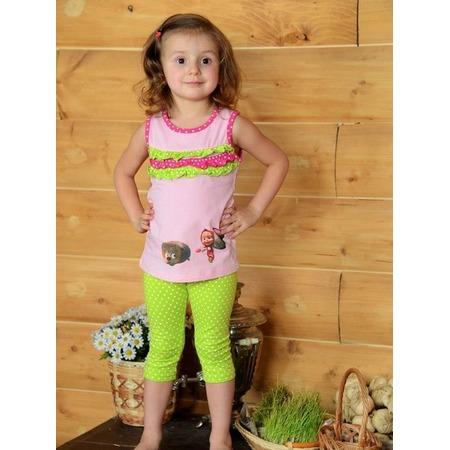 Купить Майка для девочек Detiland SS14-CVV-GTP-449. Цвет: розовый