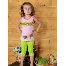 фото Майка для девочек Detiland SS14-CVV-GTP-449. Цвет: розовый