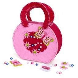 фото Набор для изготовления сумочки из фетра Color Puppy «Бабочка» 63915