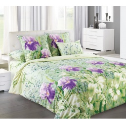 фото Комплект постельного белья Королевское Искушение «Флора». 2-спальный. Размер простыни: 220х195 см